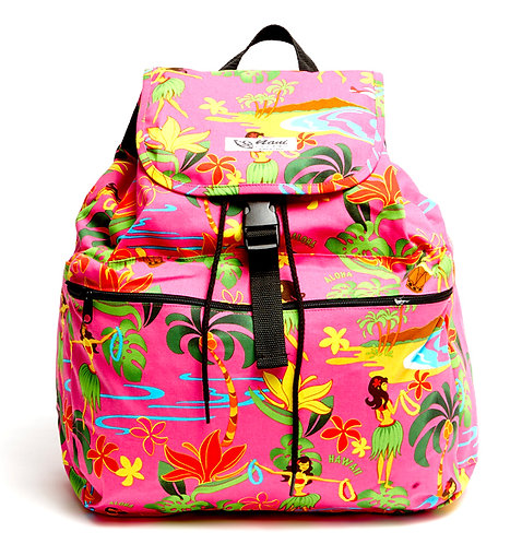 Hawaiian Hula Girl Back Pack