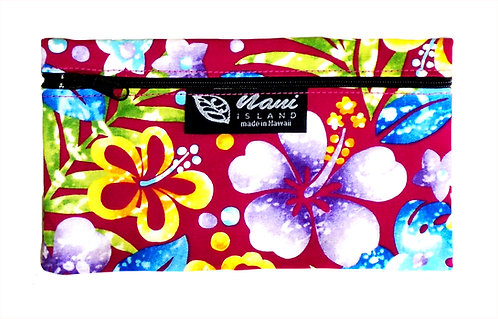 Groovy Hibiscus Glasses Case
