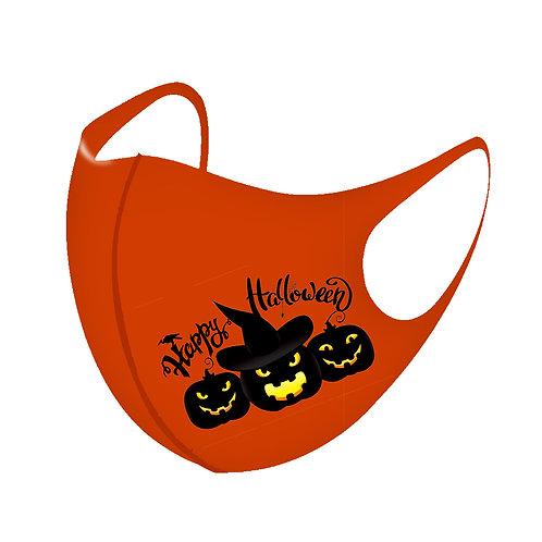 Black Pumpkin 3D Aerosilver Mask