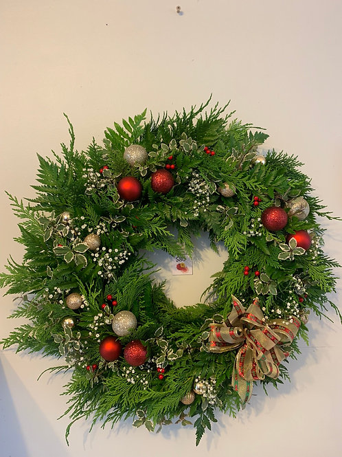 Christmas Wreath - Sunday Dec 17th