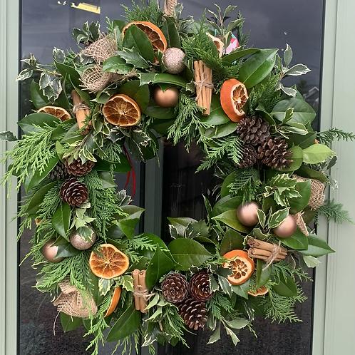 Fresh Christmas Wreath Large