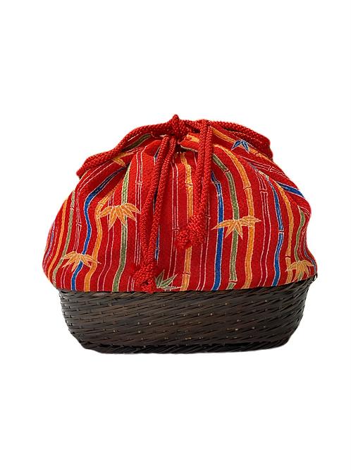 Japanese basket bag