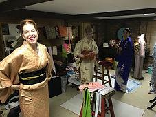 Kimono lesson in Brisbane