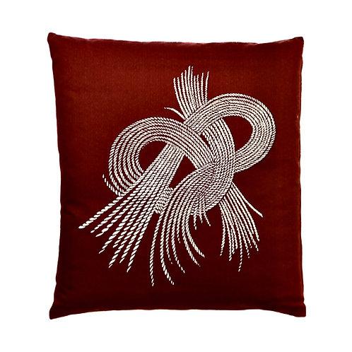 Ozabu-Japanese cushion with waterproof cover inside.