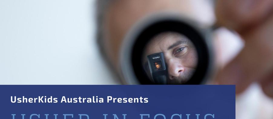 Usher Kids Australia - USHER in focus Webinar