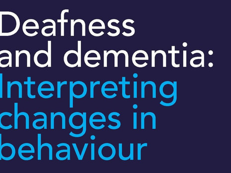 HammondCare Deafness and Dementia Booklet