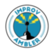 Improv Amble Logo