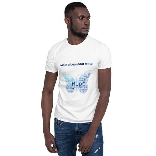 Camiseta de manga corta unisex BE