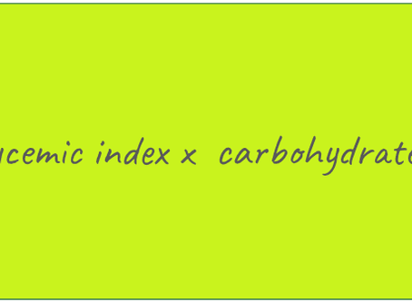 What are the glycemic index and glycemic load?