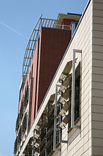 Cladding and sun protection