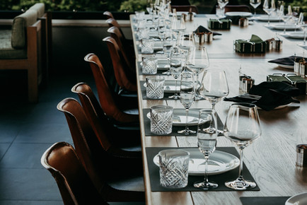 Table Setting for Wedding