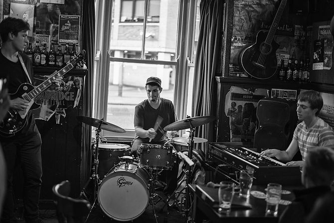 Three Step Manoeuvre Live at The Flying Pig, Cambridge