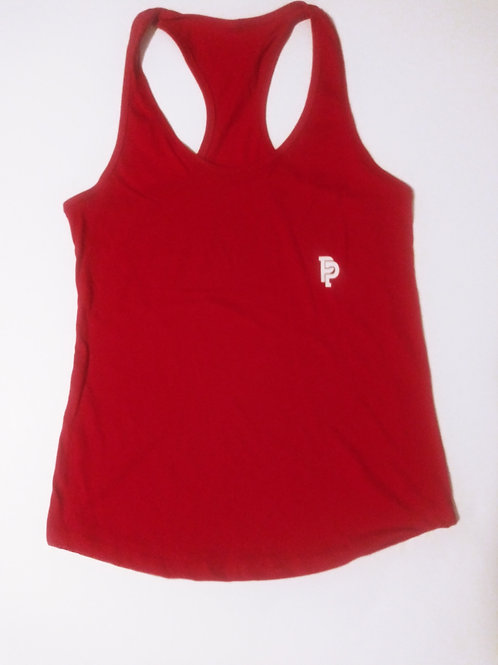 Women's PP Quicker Dry Red Tank Top