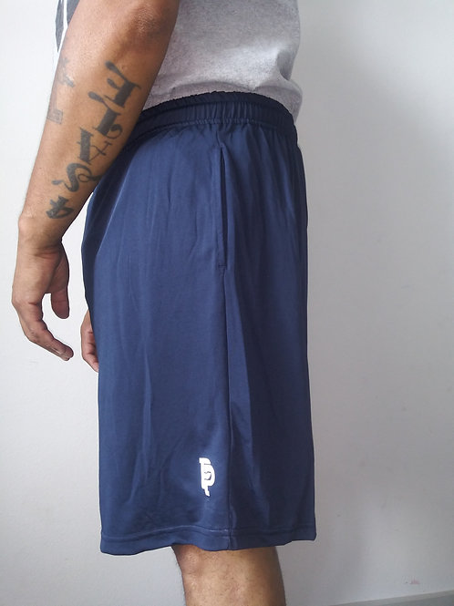 Men's PP Quicker Dry Navy Blue Performance Shorts