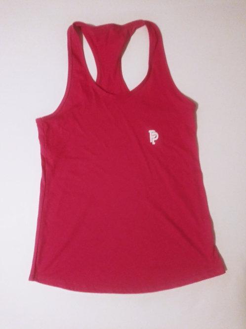 Women's PP Quicker Dry Pink Tank Top
