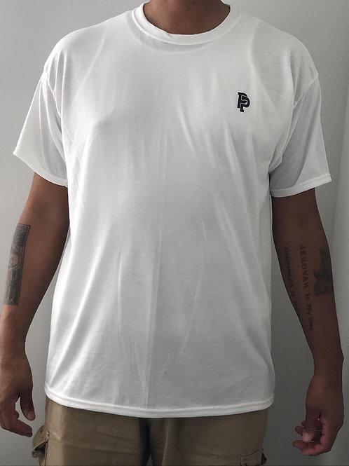 Men's PP Quicker Dry White Short Sleeve Tee