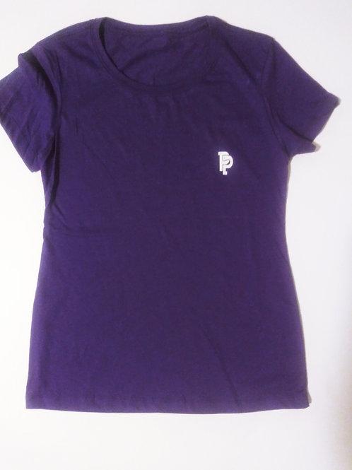 Women's PP Quicker Dry Purple Tee