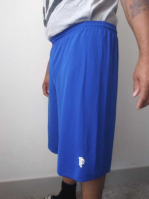 Men's PP Quicker Dry Royal Blue Performance Shorts