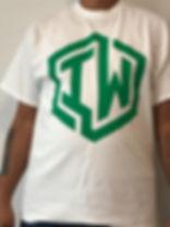 IWHIN TEE WHITE GREEN LOGO ONLY.jpg