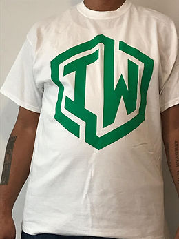 IWHIN TEE WHITE GREEN LOGO ONLY.jpg