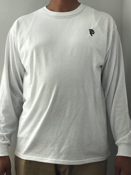 Men's SS Quicker Dry White Long Sleeve Tee