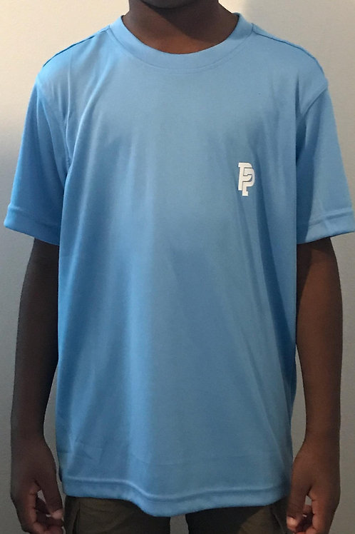 Youth PP Quicker Dry Carolina Blue Performance Shirt
