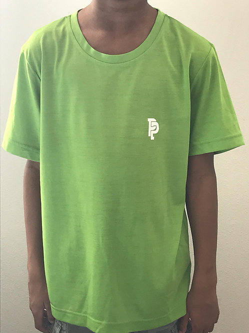 Youth PP Quicker Dry Acid Green Performance Shirt
