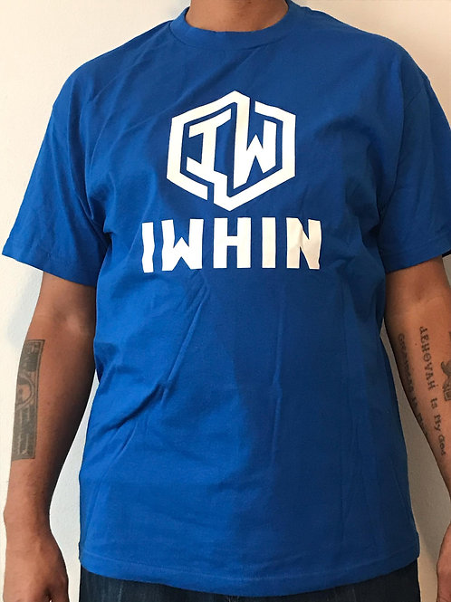 IWHIN Royal Blue Tee