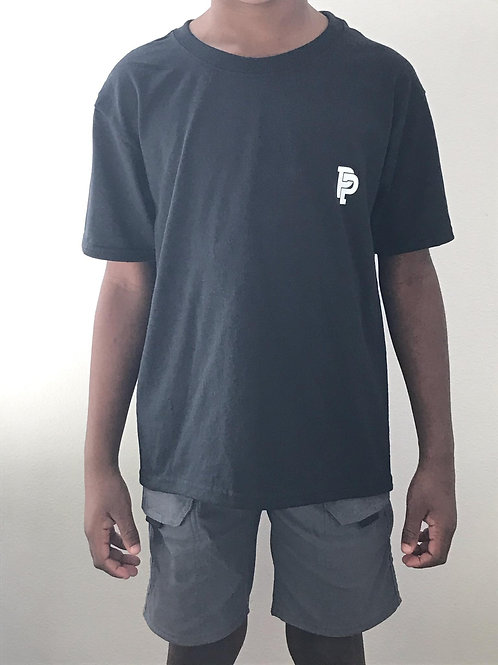 Youth PP Quicker Dry Black Tee