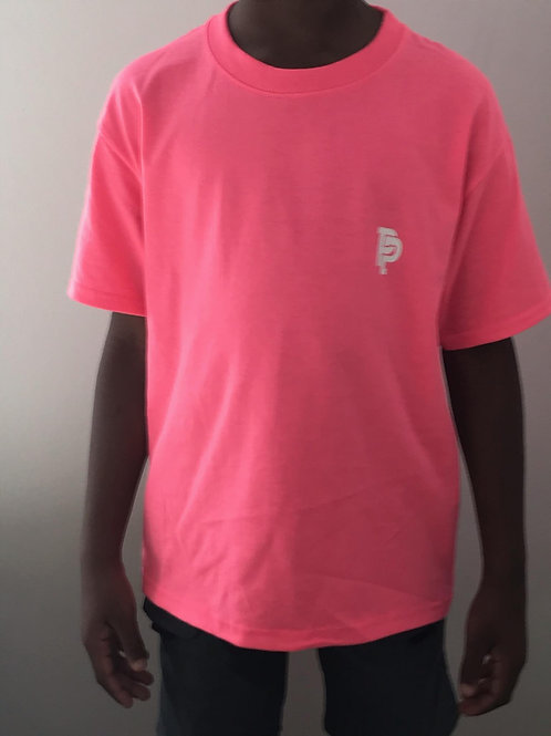 Youth PP Quicker Dry Pink Tee