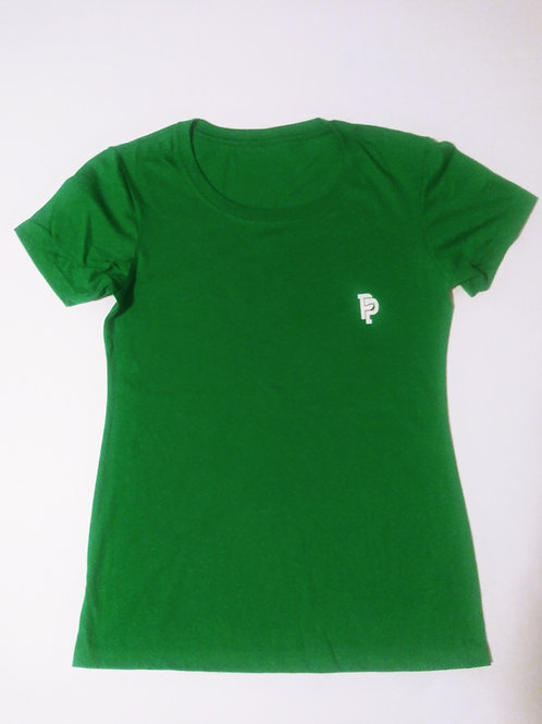 Women's PP Quicker Dry Green Tee