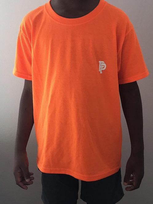 Youth PP Quicker Dry Orange Tee