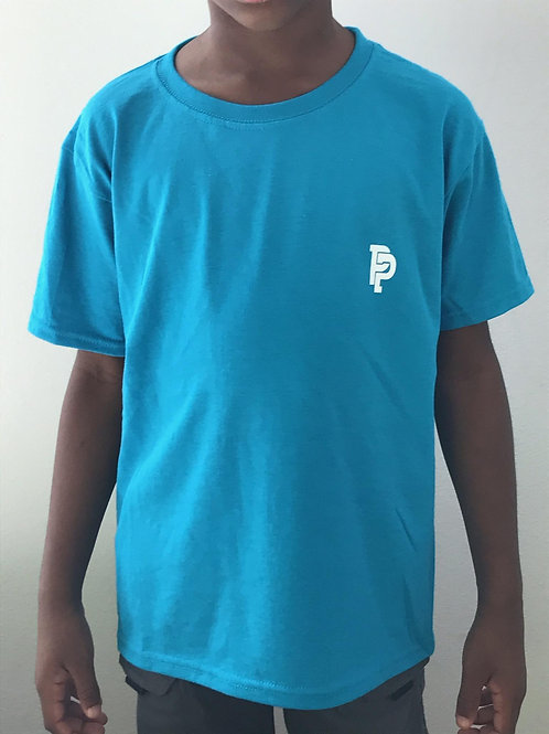 Youth SS Quicker Dry Turquoise Tee