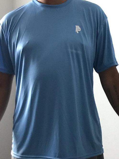 Men's PP Quicker Dry Carolina Blue Short Sleeve Performance Tee