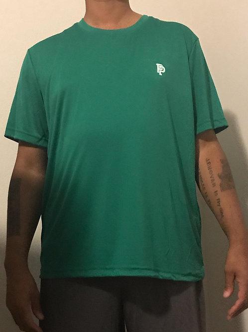 Men's PP Quicker Dry Green Short Sleeve Performance Tee