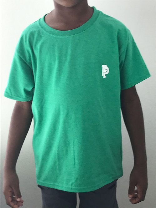 Youth PP Quicker Dry Green Tee