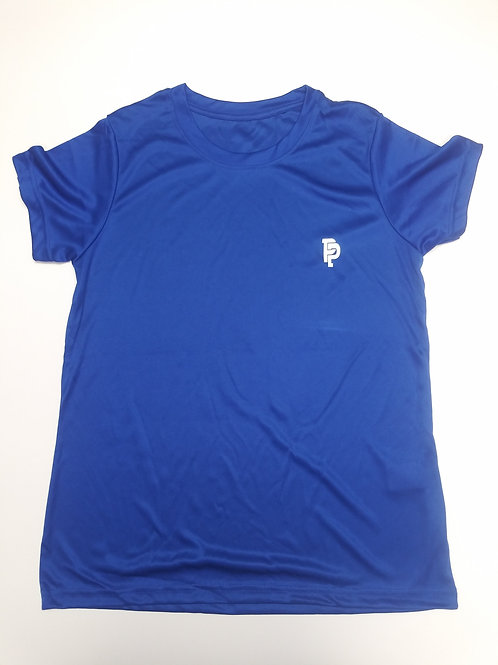 Women's PP Quicker Dry Royal Blue Performance Tee