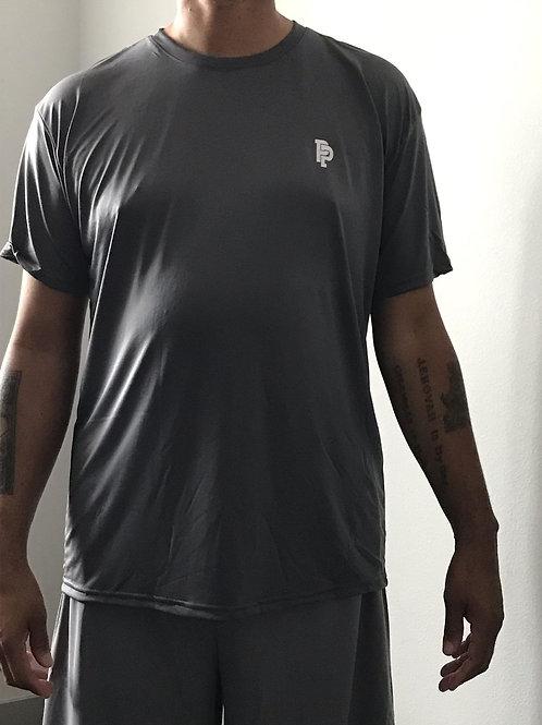 Men's PP Quicker Dry Grey Short Sleeve Performance Tee