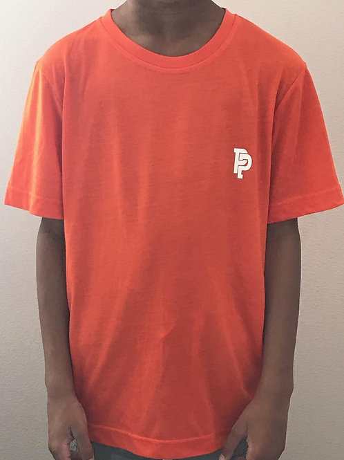 Youth PP Quicker Dry Campus Orange Performance Shirt