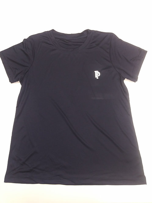 Women's PP Quicker Dry Navy Blue Performance Tee