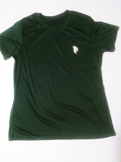 Women's PP Quicker Dry Hunter Green Performance Tee