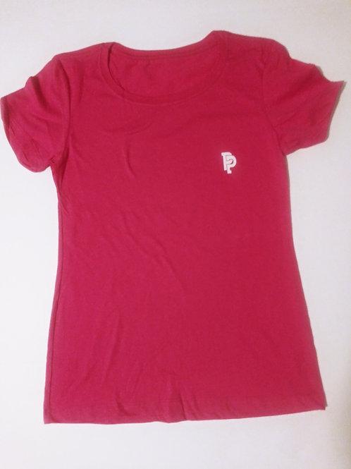 Women's PP Quicker Dry Pink Tee