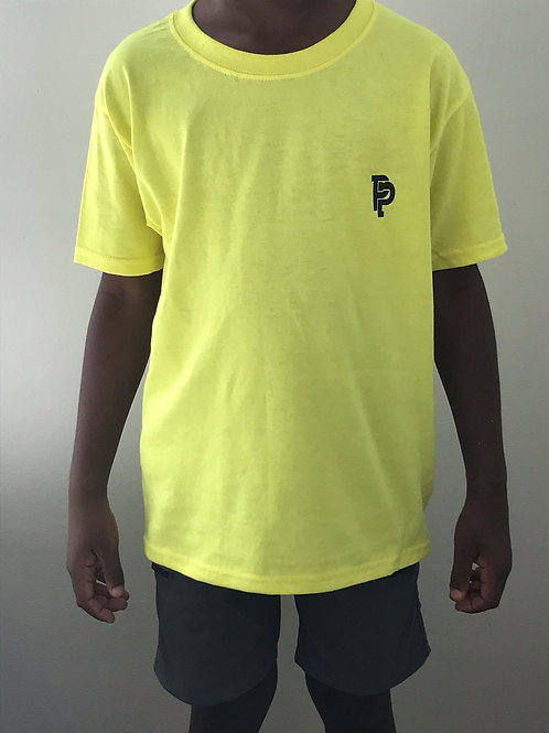 Youth PP Quicker Dry Yellow Tee