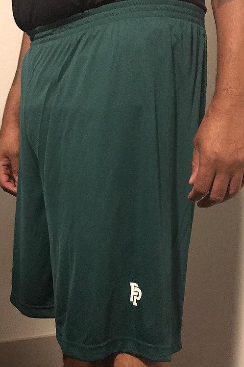 Men's PP Quicker Dry Hunter Green Performance Shorts