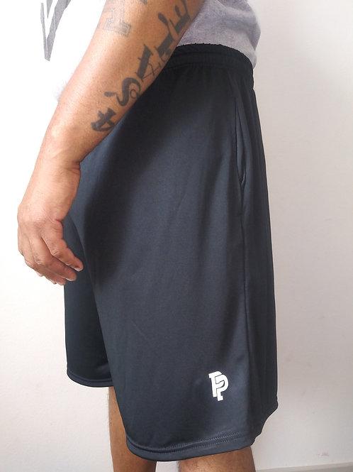 Men's PP Quicker Dry Black Performance Shorts