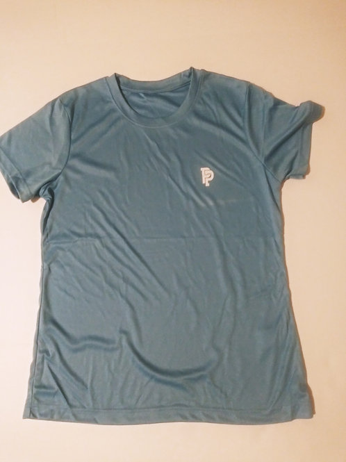 Women's PP Quicker Dry Carolina Blue Performance Tee