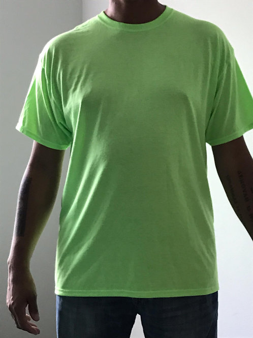Men's CT Quicker Dry Neon Yellow Tee