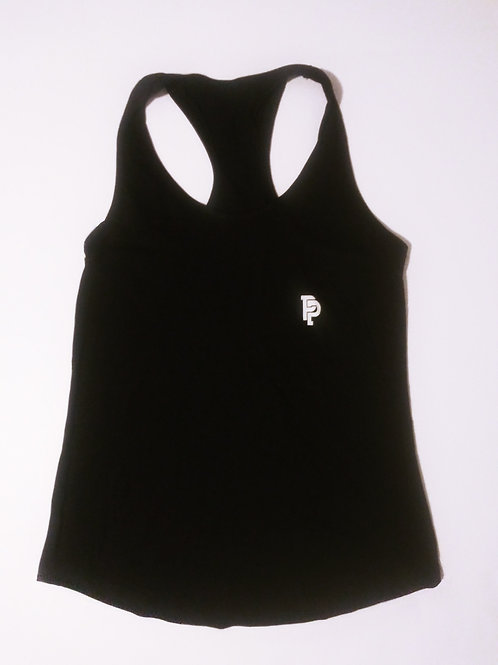 Women's PP Quicker Dry Black Tank Top