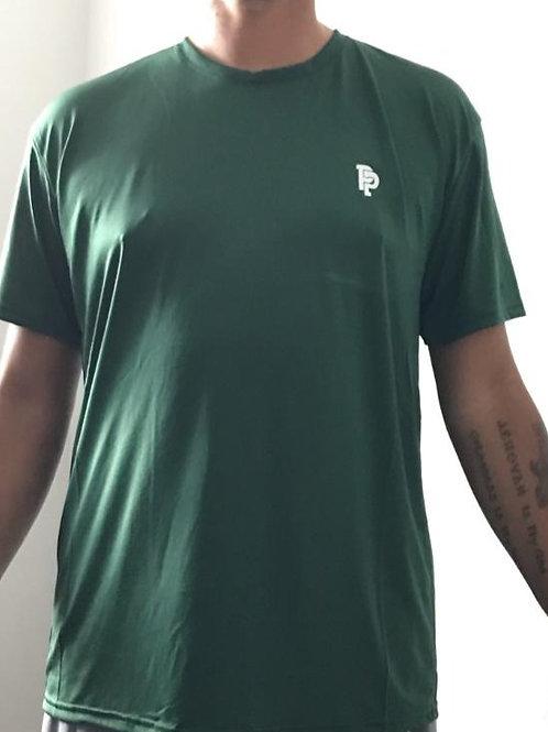 Men's PP Quicker Dry Hunter Green Short Sleeve Performance Tee