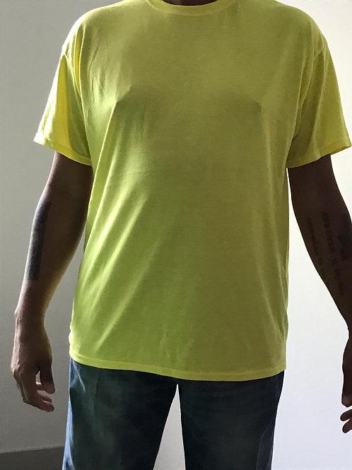 Men's CT Quicker Dry Yellow Tee